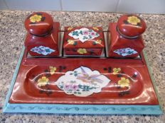 Pallas -Limoges- porcelain - tray - ink set - 1st period 1926-1950