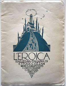L'Eroica Issue 102 year 1927 of the collection Fondo Ettore Cozzani