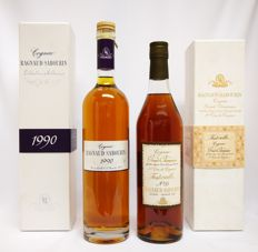 Ragnaud Sabourin 1990 Grande Champagne 41% 70cl (distilled 1990 - bottled on Novembre 15th 2011) & Ragnaud Sabourin No.35 Fontvieille 1e Cru de Cognac Grand Champagne 43% abv