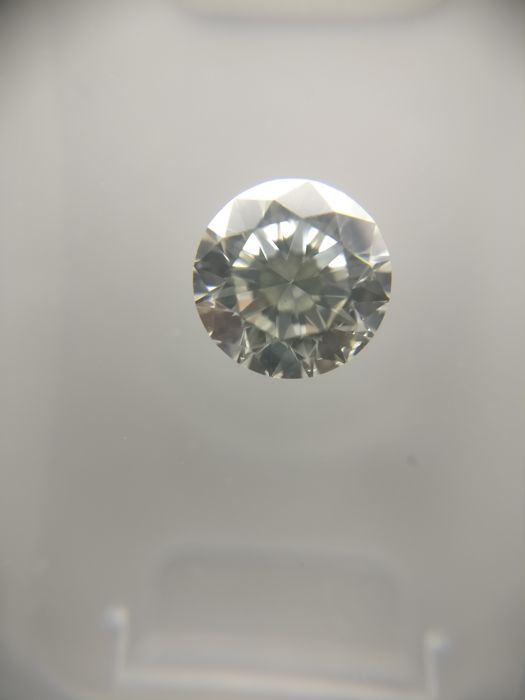 0.80 ct Round cut diamond G SI1