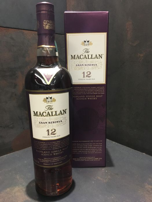 Macallan 12 years old Gran Reserva Limited Edition - 700ml