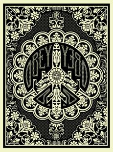 Shepard Fairey (OBEY) -   Peace Bomber
