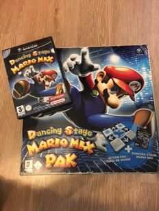 Nintendo Gamecube Dancing Stage Mario mix - Boxed