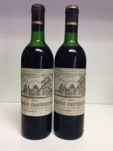 1973 Chateau Cantemerle, Grand Cru Classe Haut-Medoc, France , 2 bottles 0,73l
