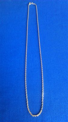 Necklace in 18 kt gold - 46 cm
