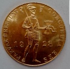 The Netherlands – Ducat 1928 Wilhelmina – gold