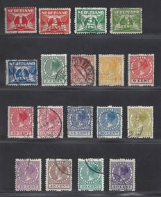 The Netherlands 1925 – Two-sided syncopated perforation – NVPH R1/R18