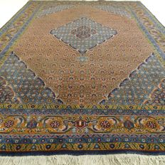 Ardebil – 286 x 194 cm – Eyecatcher – Persian carpet, cognac colour – In beautiful condition