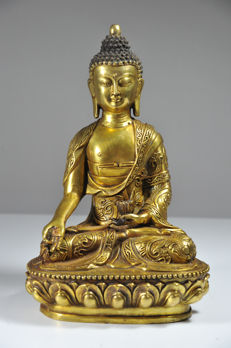 Seated Buddha Statue - China - late 20th century