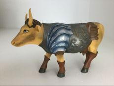Cow Parade Cowparade - Gladiator Cow - Medium - Resin - RETIRED in box met tag
