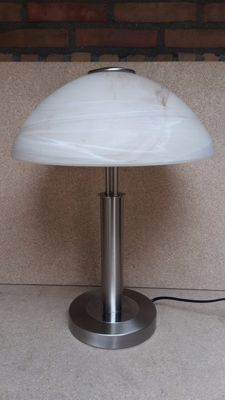 Unknown designer - Large Art Deco Style Mushroom Lamp