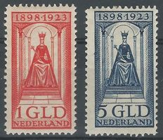 The Netherlands 1923 – Government jubilee – NVPH 129