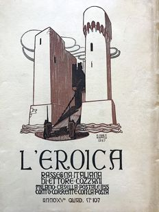 L'Eroica Issue 107 year 1927 of the collection Fondo Ettore Cozzani