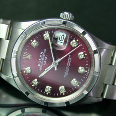 Rolex Oyster Perpetual Date Automatic Men's 1981s with Band 15000