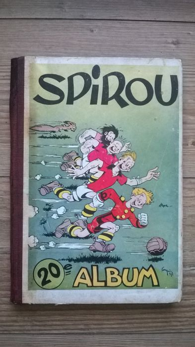 Journal Spirou - Reliure 20 - C - EO (1946)