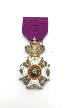 Order of Leopold - silver decoration - Belgium