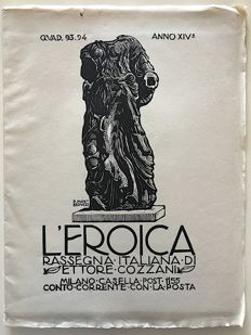 L'Eroica Issues 93 and 94 year 1925 of the Collection Fondo Ettore Cozzani