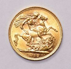 Great Britain - Sovereign 1913 - George V - gold