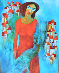 Miroslaw Hajnos - Covered in turquoise