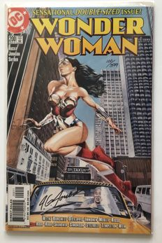 Wonder Woman #200 - very rare signed & numbered edition of 399 copies - 1x sc - 1st edition - (2004)