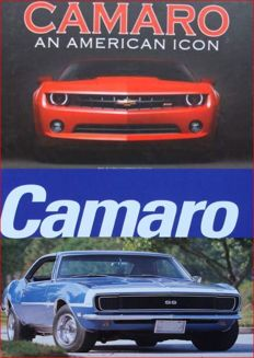 2 Books on the Chevrolet Camaro