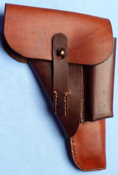 German WW2 Wehrmacht Army Walther P-38 Leather Pistol Holster