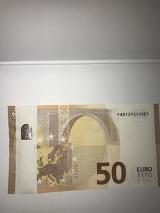 European Union - Misprint - 50 euros 2017