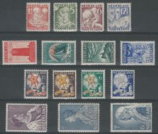 The Netherlands, 1930-1934, selection including sailor stamps and child