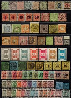 Old Germany Württemberg, Baden, Bavaria, Thurn & Taxis - collection