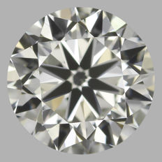 0.90ct Round Brilliant Diamond I VS1  IGI -ORIGINAL IMAGE