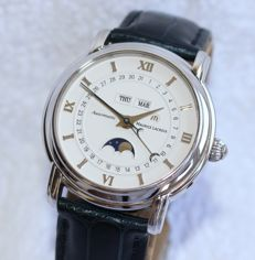 Maurice Lacroix Masterpiece MP6347 Moonphase Triple Date Automatic - men's watch - 2000's