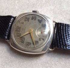 Omega - men's wrist watch with fixed lugs - 1935
