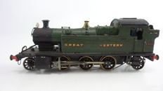Sutherland Models 00 - brass and white meta tender locomotive Class 4400 of the Great Western Railways