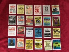 The Beatles U.S. and U.K. Concert Poster Cigarette Card Collections