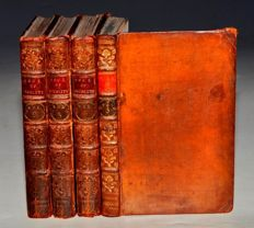 Henry Brooke - Fool of Quality - 4 volumes - 1767/1777