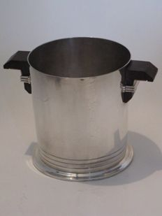 Puiforcat - Art Deco champagne bucket - Silver plated metal