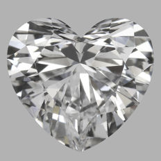 1.50ct Heart   Brilliant  G VS1  IGI -ORIGINAL IMAGE