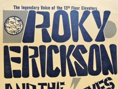 13th Floor Elevators Roky Erickson and the Explosives 1979 Poster