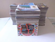 Lot of more than 2000 postcards, modern and semi modern