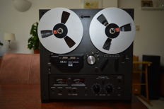 Akai GX215D Black Edition auto-reverse with 18cm metal reels