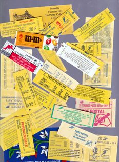 France 1950s/1990s - uninvestigated batch of stamp booklets (including the Red Cross) - practically all different ones