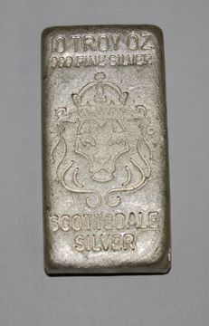 Silver Bar, Scottsdale, Hand poured - 10oz
