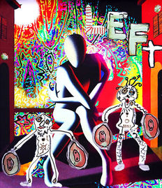 Mark Kostabi, Paul Kostabi, Tony Esposito - Psychedelic Solution