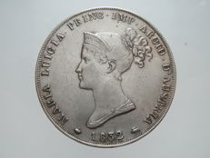 Duchy of Parma – 5 Lire coin, 1832 – Marie Louise – Silver