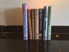 Agatha Christie - Lot of first edition mystery novels - 7 volumes - 1944/1971