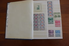 United States 1937/1976 - Batch containing stamps, blocks and sheets