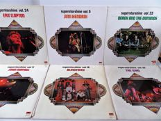 Nice lot with twelve albums from the Great Superstarshine Serie.