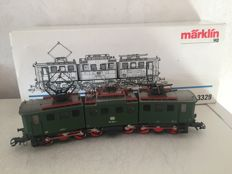 Märklin H0 - 3329 - Articulated E-locomotive BR 191 of the DB