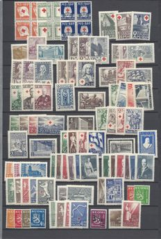 Finland  1930/1963  - Collection of stamps.