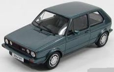 Otto Mobile - Scale 1/18 - Volkswagen Golf 1 GTI 1800 Pirelli 1983 Limited 2000 pieces - Colour Green Metallic